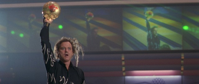 "Bill Murray steals the movie repeatedly as Ernie ""Big Ern"" McCracken, Roy's rival with a wild combover and a flamboyant rose-suspending bowling ball."
