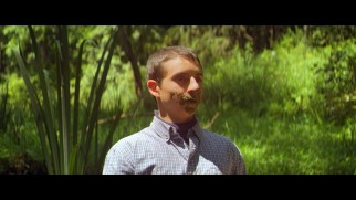 Biaggio (Moises Arias) faces his fear of quicksand by eating mud in this deleted scene.