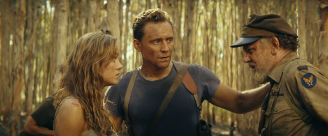 "Brie Larson, Tom Hiddleston, and John C. Reilly number among the human heroes of ""Kong: Skull Island."""