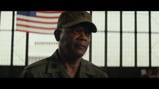 Samuel L. Jackson's character features in the movie plenty, but also appears in more deleted scenes that any other character.