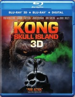 Kong: Skull Island Blu-ray 3D + Blu-ray + Digital HD cover art -- click to buy from Amazon.com
