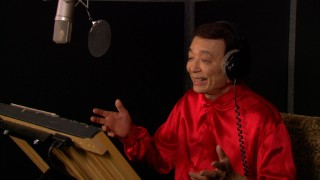 "Annie-nominated James Hong, the voice of Mr. Ping, gets his due in the featurette ""Kickin' It with the Cast."""