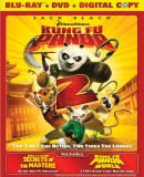 Kung Fu Panda: 2-Disc Blu-ray + DVD + Digital Copy combo pack cover art - click to buy from Amazon.com