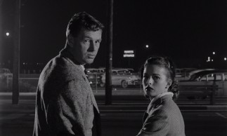 Leave it to airline baggage regulations to stand in the way of a clean getaway for Johnny (Sterling Hayden) and Fay (Coleen Gray).