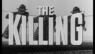 "The title card used in the theatrical trailer for ""The Killing"" is more iconic than the image used as the Blu-ray's menu."