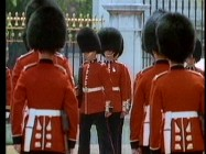 Learn about London and have a look at the Queen's guards in the Lost in London game.