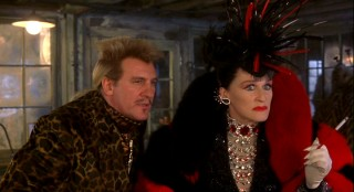 Cruella aligns herself with French fashion icon Jean Pierre Le Pelt (Gerard Depardieu), a man showing most unfortunate tastes in clothes and hair.
