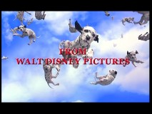 Dalmatian puppies fall from the sky in the film's theatrical trailer.