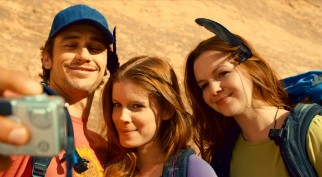 A chance encounter with two lost young women (Kate Mara and Amber Tamblyn) will be the last human contact Aron Ralston (James Franco) experiences for many hours.