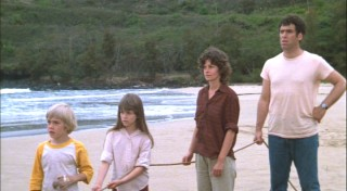 Bobby, Julie, Bernadette, and Noah are stranded on a desert island.