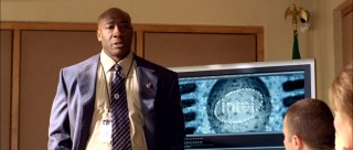 Michael Clarke Duncan plays FBI agent Nathanial Broadman, who's investigating the Wilders in the name of homeland security. A clever incorporation of an established present-day technology brand or mere product placement? You decide.