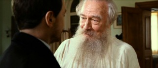 Bushy-bearded icon of Russian literature Leo Tolstoy (Christopher Plummer) is warm and welcoming towards his new personal secretary.