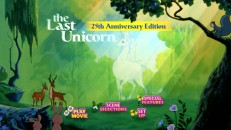 "Never mind that ""The Last Unicorn"" turns 29 in 2011; the DVD's main menu hasn't changed its quarter-centennial branding."