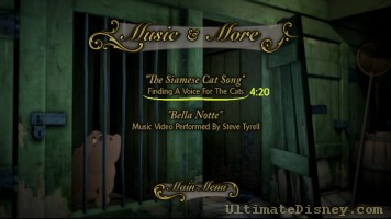 Music & More Menu
