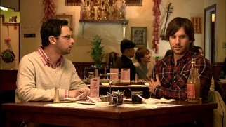 In Chinatown, Ruxin (Nick Kroll) and Taco (Jon LaJoie) experience a language barrier.