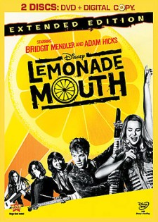 Lemonade Mouth: Extended Edition DVD cover art -- click to buy from Amazon.com