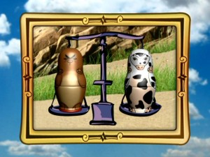 The fact that a bear cub can weigh the same as a cow is one of the facts you�ll learn via the Magic Mission Mode.