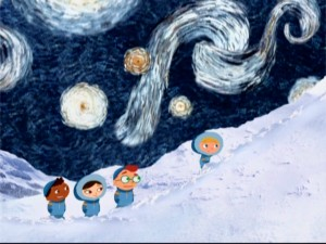 Ooh, Little Einsteins, it's Starry Night. I can hear the children of the world getting smarter!