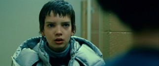 "Australian child actor Kodi Smit-McPhee plays Owen, the bullied 12-year-old protagonist of ""Let Me In."""
