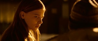Rising young American star Chloë Grace Moretz plays Abby, the equally lonely next-door neighbor with a secret hunger.