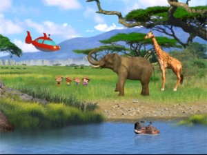 I know what you're thinking. Why is there a screencap from Timon & Pumbaa's Virtual Safari? It's not.