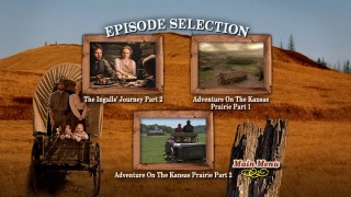 Look at that - more composite artwork adorns Disc 2's Episode Selection menu. And Pa Ingalls hasn't moved a muscle! Amazing!