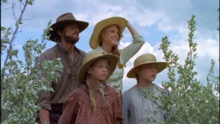 The Ingalls Family takes a look at the Indian camp.