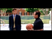 Ben and Reverend Frank play a little one-on-one roundball in the second of five deleted sequences.