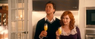 Though Peter (Hayes MacArthur) and Alison (Christina Hendricks) get minimal screentime, their absence hangs over the film.
