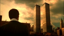 Detective Sam Tyler realizes he's not in 2008 anymore upon seeing the World Trade Center's Twin Towers standing, in a sadly poignant pilot episode reveal.