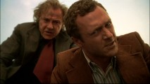 Gene (Harvey Keitel) has Sam (Jason O'Mara) get a nice close look at the bloodshed occurring from his judgment call in the series' second episode.
