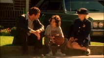 "Sam and Annie console a boy whose father is murdered in ""My Maharishi Is Bigger Than Your Maharishi."""