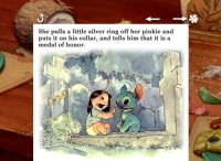 Lilo giving the gift of pinky ring is one of the unrealized plot points contained in Chris Sanders' children's book-resembling original pitch.