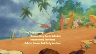 Disc 2's simple, static main menu merely lightens up the most prominent of Disc 1's main menu scenes.