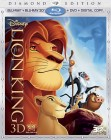 The Lion King: Diamond Edition Blu-ray 3D + Blu-ray + DVD + Digital Copy combo pack cover art