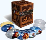 The Lion King Trilogy: Diamond Edition 3 Blu-ray + 3 DVD + Blu-ray 3D + Digital Copy combo pack cover art