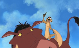 Timon and Pumbaa again provide just the right amount of comic relief in their supporting roles.