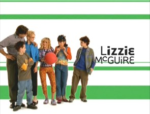 The 'Lizzie McGuire' title screen.