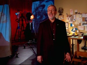 "Leonard Maltin appears in an introduction on ""Disney Rarities."""