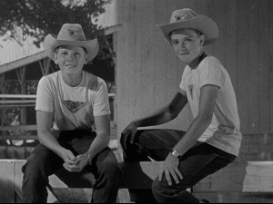 """The Adventures of Spin and Marty"" introduced the adolescents whose adventures at the Triple-R Ranch comprised three popular seasons of serials on ""The Mickey Mouse Club"" in the late 1950s. The first season makes its DVD debut as part of this month's Walt Disney Treasures."