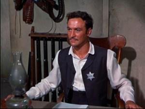 "Robert Loggia portrayed Elfego Baca, a Mexican gunman who became a sheriff in New Mexico in a series of late-1950s ""Walt Disney Presents"" adventures. Three episodes of ""Elfego Baca"" and three of ""The Swamp Fox"" (which starred Leslie Nielsen as Revolutionary War hero Francis Marion) appear together on the ""Legendary Heroes"" Treasures tin."