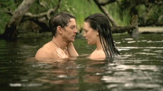 Richard (Craig Horner) and Kahlan (Bridget Regan) share a steamy moment in the lake, but one of these characters is not who they appear to be.