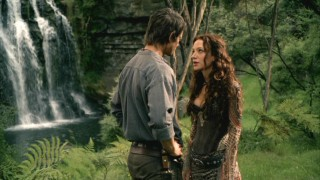 While under Darken Rahl's spell, Richard (Craig Horner) dreams he's back home with Anna (Jessica Chapnik), his first love.