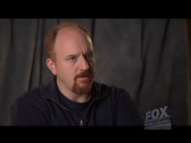 "Louis C.K. talks briefly about writing the show versus writing stand-up bits in Fox Movie Channel's ""Writer's Draft"" short."