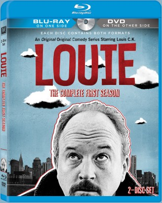 Louie: The Complete First Season Blu-ray/DVD cover art - click to buy from Amazon.com
