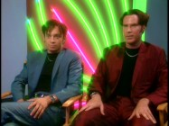 "In costume in 1998 and in front of garish neon lights, Chris Kattan and Will Ferrell sit down and talk about the movie in ""Score! Reliving 'A Night at the Roxbury.'"""