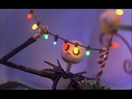 'What's this?' The spindly Jack discovers Christmas.