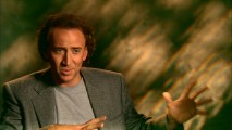 "The hand goes up as Nicolas Cage gets a little deep in ""Making the Best Next Thing."""