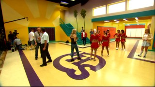 """Inside the Sassy Halls of Secret High"" takes us behind the scenes of the serialized ""High School Musical""-like TV show employing Adam as a PA."