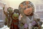 "Robin, Kermit, and Miss Piggy play Crachits in ""The Muppet Christmas Carol"", one of four Muppet films Disney is revisiting on DVD next month in celebration of Kermit's 50th Anniversary. Click for full details on these discs."
